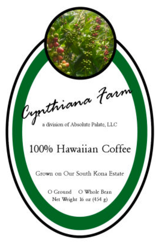 Cynthiana Farm 100% Hawaiian 16-oz.