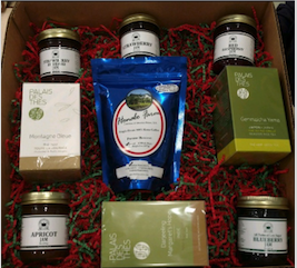 Teas & Jams Gift Box - 9 Items
