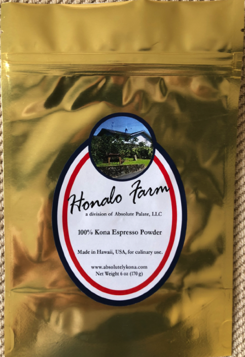 100% Kona Espresso Powder, 6-oz. Bag
